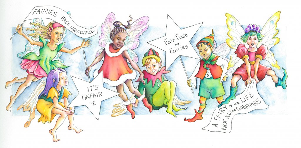 fairies on strike