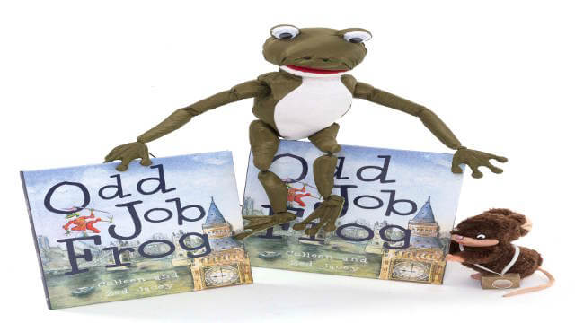 Odd Job Frog & Mouse Puppets
