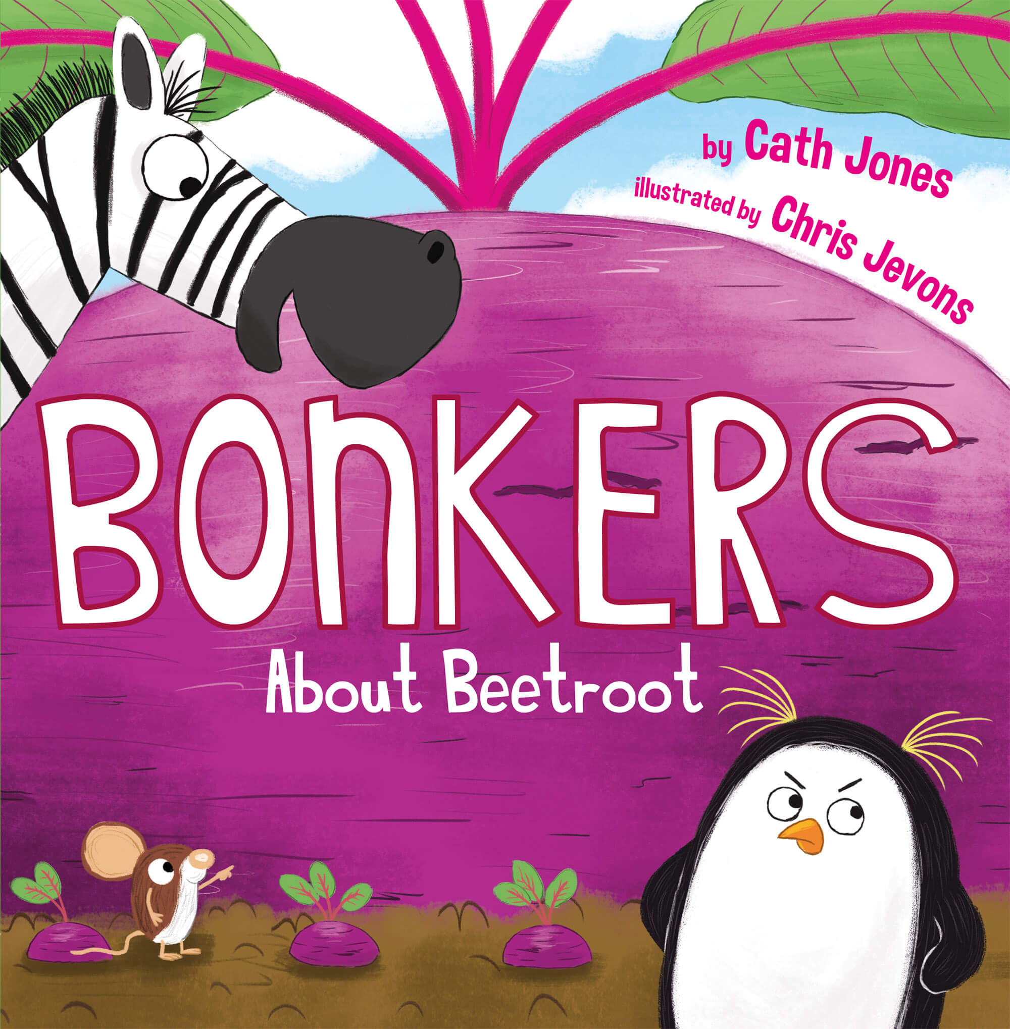 Bonkers About Beetroot Cover