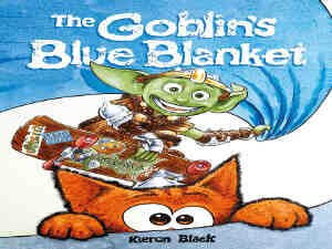 The Goblins Blue Blanket by Kiron Black
