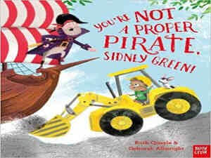 You're not a proper pirate, Sidney Green