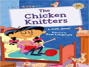 The Chicken Knitters by Cath Jones