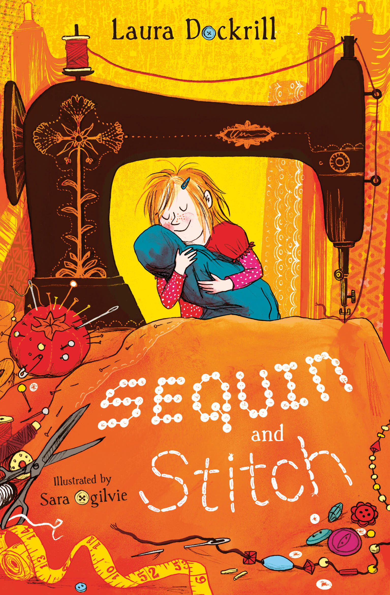 Sequin and Stitch Cover