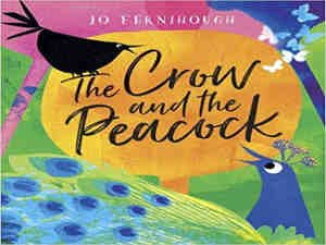 The Crow and the Peacock by Jo Fernihough