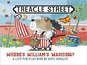Treacle Street – Where's William's Washing by Kate Hindley