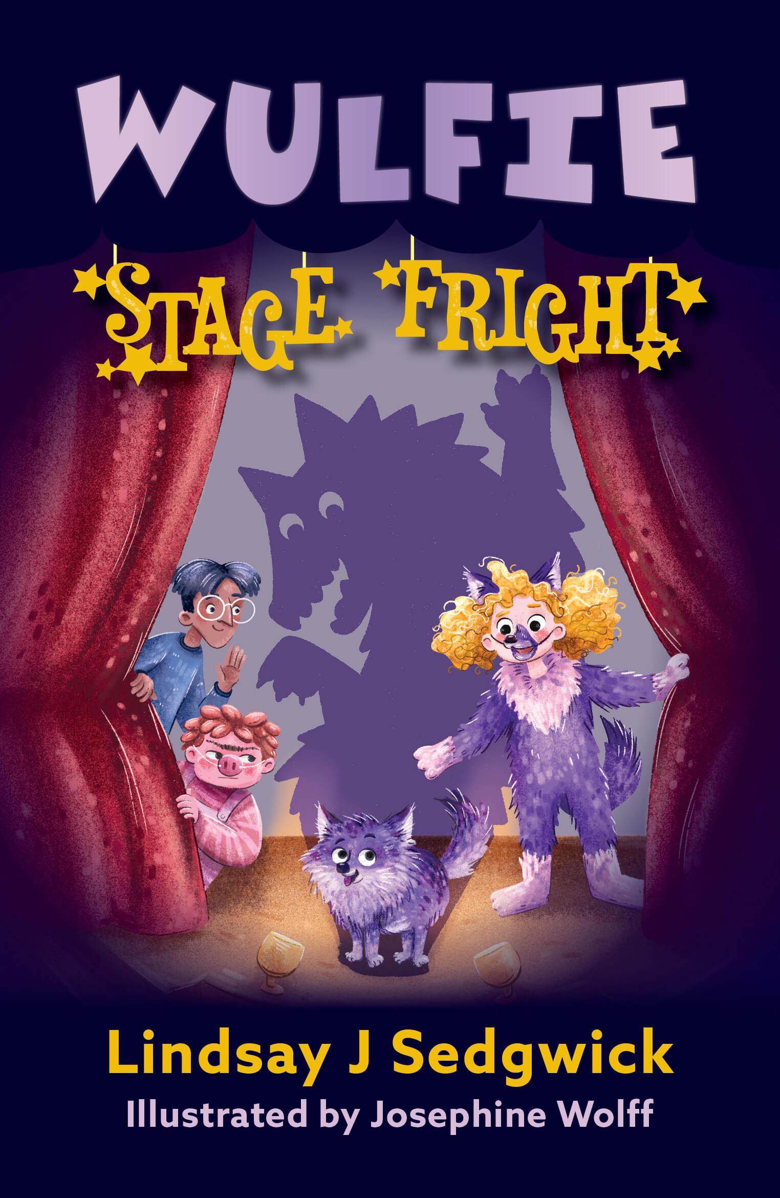 WULFIE STAGE FRIGHT by Lindsay J Sedgewick